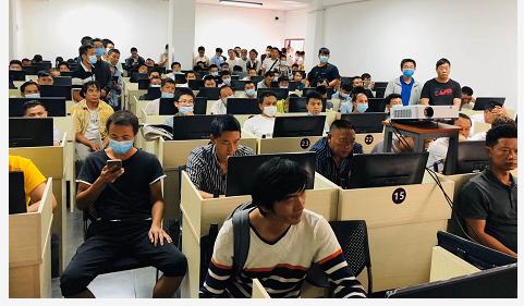 2021年8月应急管理局第四期特种18新利app苹果版操作证考试培训-学员风采
